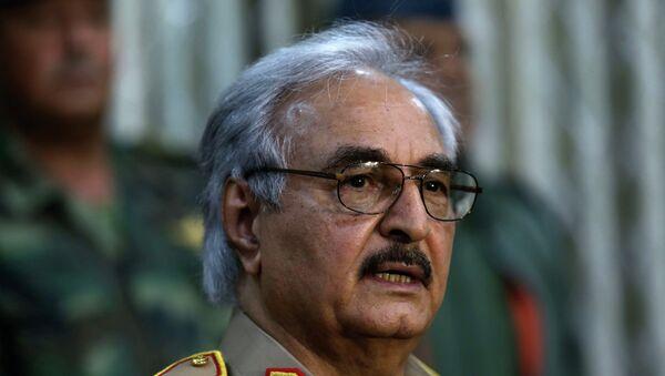 Мятежный ливийский генерал Халифа Хафтар