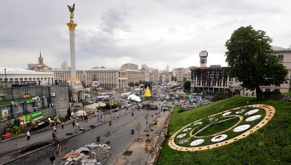 Киев накануне выборов. Архивное фото