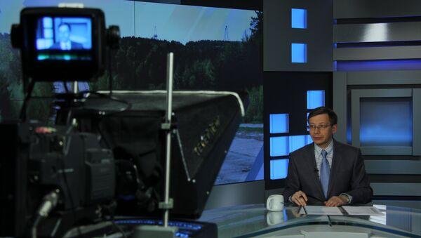Томская телекомпания ТВ-2. Архивное фото