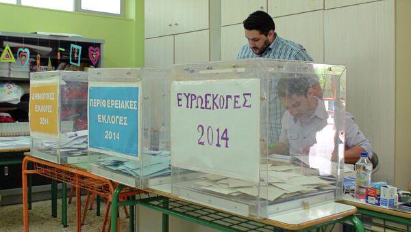 Выборы в Европарламент в Греции. Архивное фото