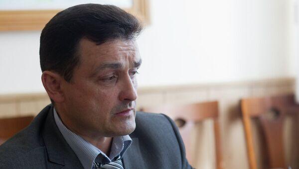 Первый заместитель главы Александровского района Томской области Александр Фисенко