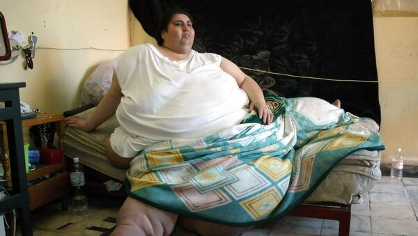 Один из самых тяжелых людей в мире мексиканец Мануэль Урибе