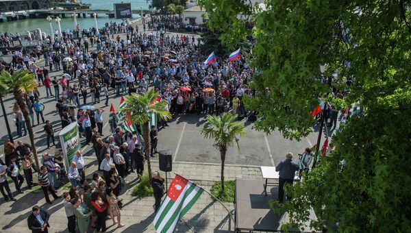 Ситуация в Абхазии, архивное фото