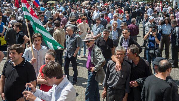 Ситуация в Абхазии. Архив