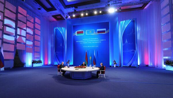 Заседание Высшего Евразийского экономического совета в Астане