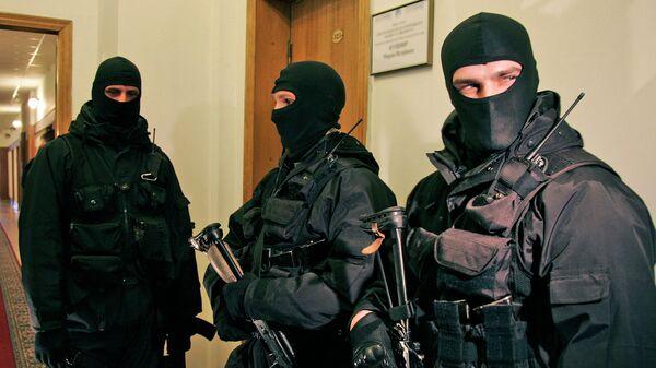 Сотрудники СБУ Украины. Архивное фото