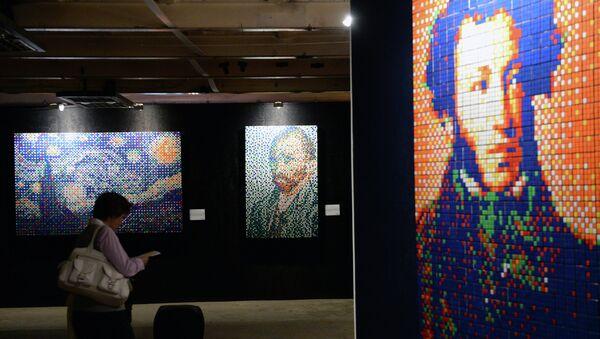 Выставка CubeART