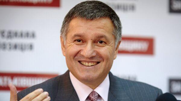 Исполняющий обязанности главы МВД Украины Арсен Аваков