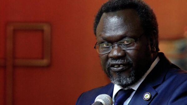 Лидер повстанцев Южного Судана Риек Машар