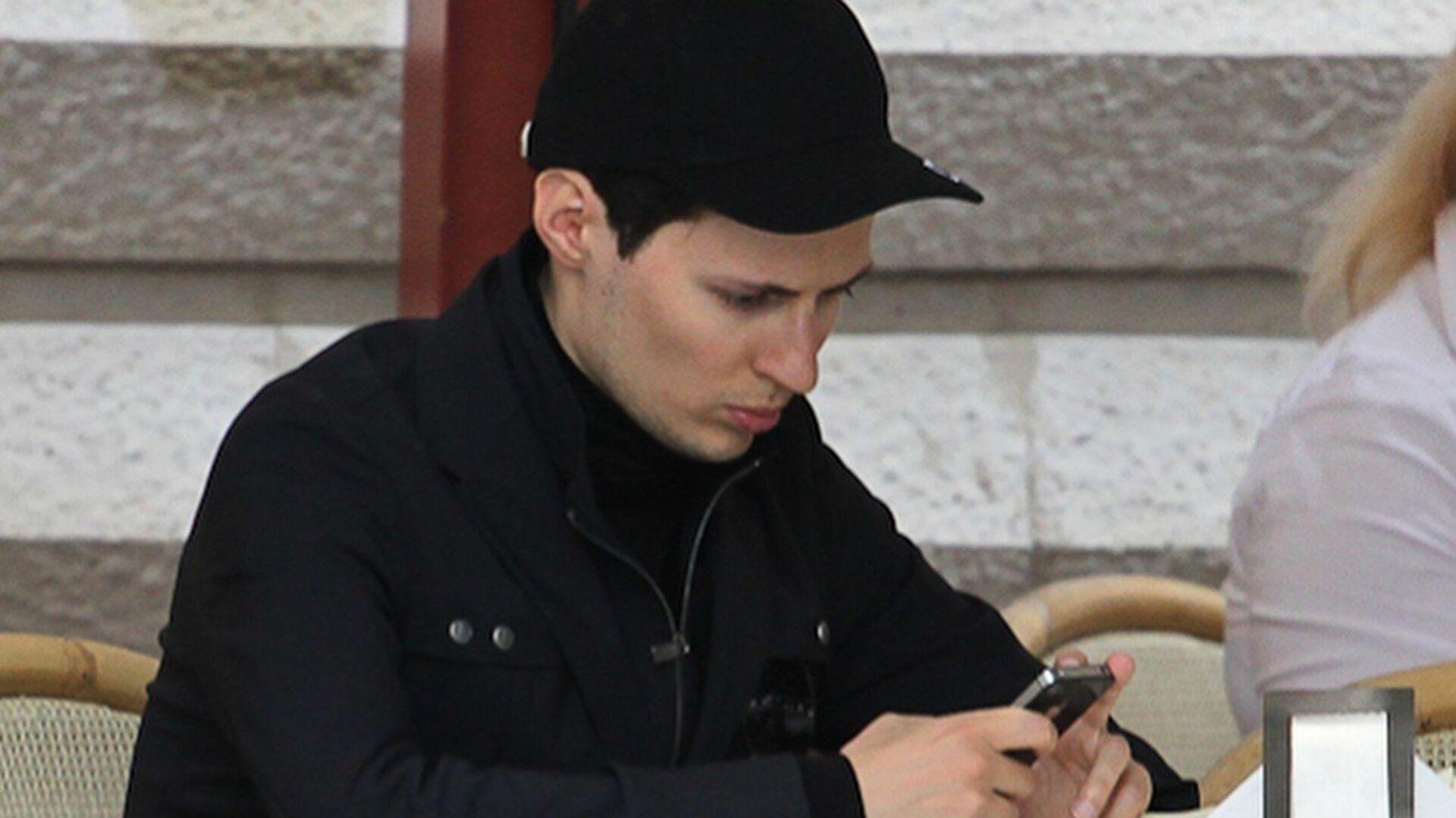 Основатель Вконтакте Павел Дуров - РИА Новости, 1920, 21.05.2021