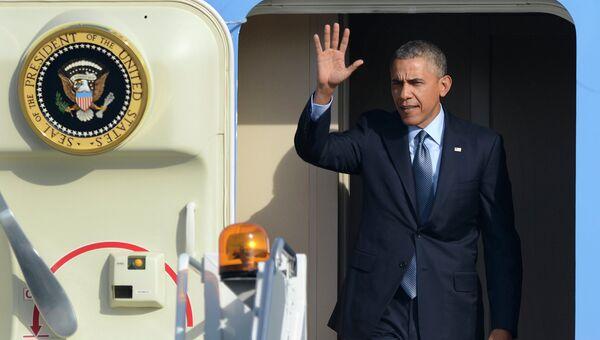 Самолет президента США Барака Обамы. Архивное фото