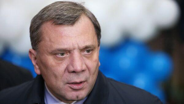 Заместитель министра обороны РФ Юрий Борисов. Архивное фото