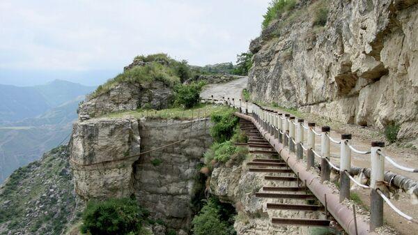 Горная дорога, Дагестан. Архивное фото