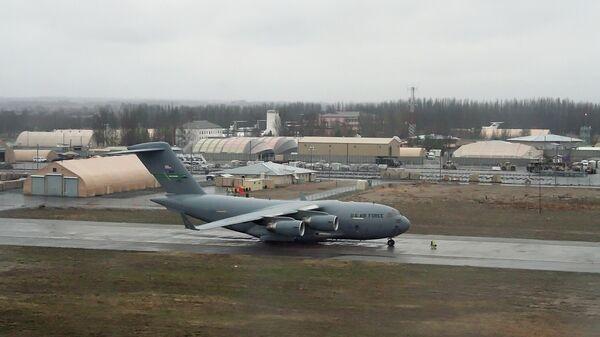 Авиабаза Военно-воздушных сил (ВВС) США Манас в Киргизии