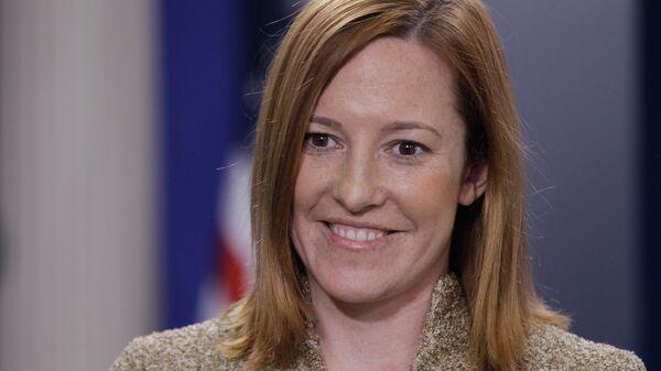 Официальный представитель госдепартамента США Дженнифер Псаки