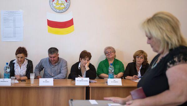 Парламентские выборы в Южной Осетии. Архивное фото