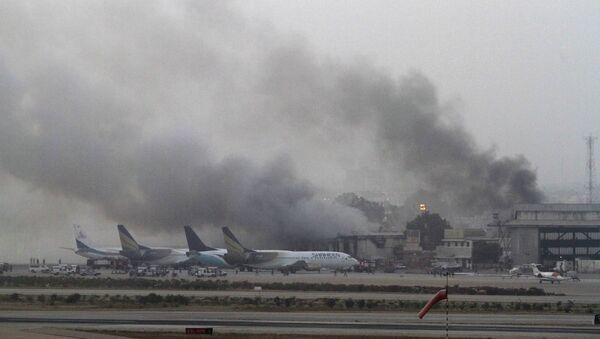 Нападение на аэропорт в Карачи, Пакистан