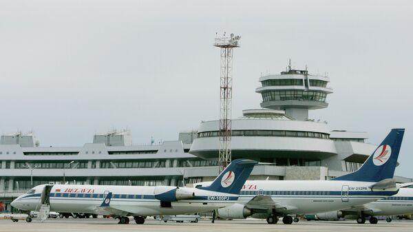 Аэропорт Минска. Архивное фото