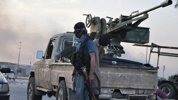 Боевики группировки Исламское государство Ирака и Леванта используют военную технику, захваченную у правительственных войск.