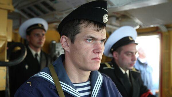Служащие Балтийского флота РФ. Архивное фото