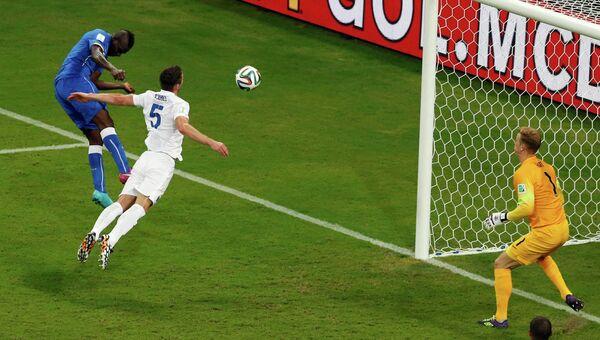 Чемпионат Мира по футболу - 2014. Матч Англия - Италия