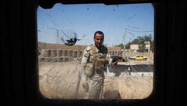 Иракский солдат. Архивное фото