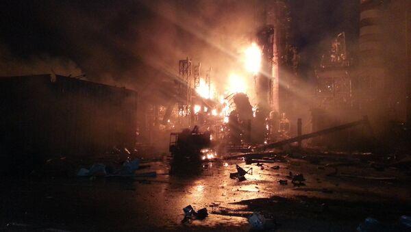 Пожар на Ачинском НПЗ