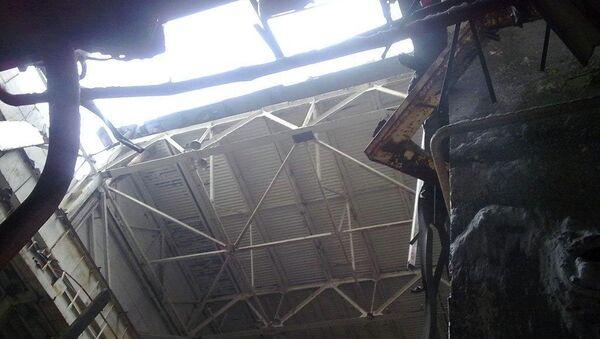 Четвертый энергоблок Чернобыльской атомной электростанции. Архивное фото