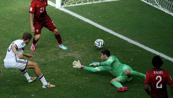 Матч Португалия - Германия в рамках ЧМ-2014