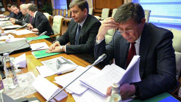 Руководитель Федерального космического агентства (Роскосмос) Владимир Поповкин. Архивное фото