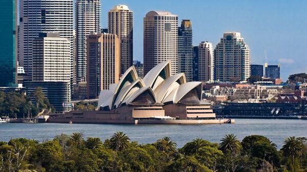 Город Сидней, Австралия, архивное фото