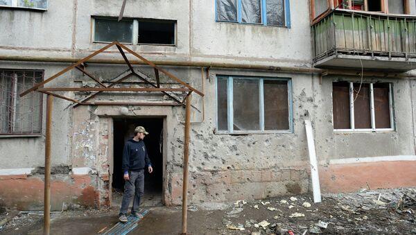 Ситуация в Краматорске донецкой области. Архивное фото