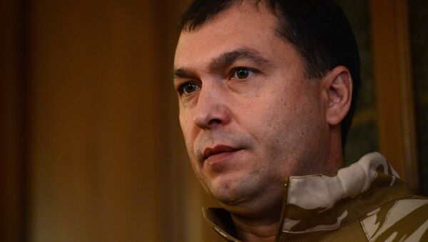 Глава Луганской народной республики Валерий Болотов. Архивное фото