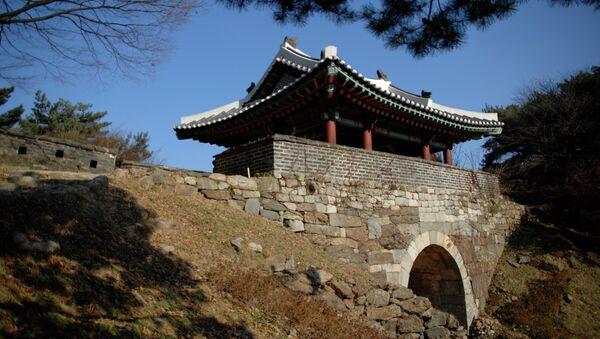 Крепость Намхансансон в Южной Корее