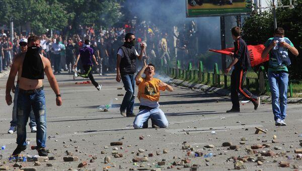 Беспорядки в Косовска-Митровице