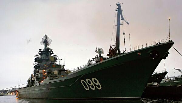 Ракетный крейсер Петр Великий, Северный флот России