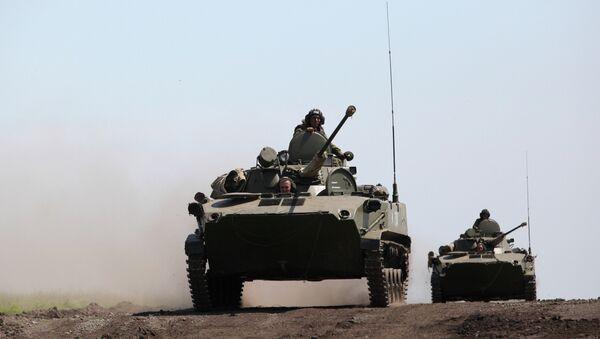Внезапная проверка боевой готовности войск. Архивное фото