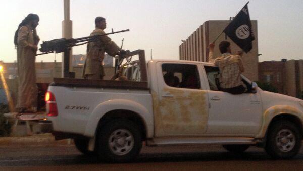 Боевики-исламисты. Архивное фото