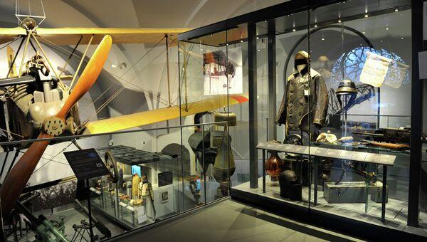Экспозиция Первой мировой войны в Военно-историческом музее в Вене. Архивное фото