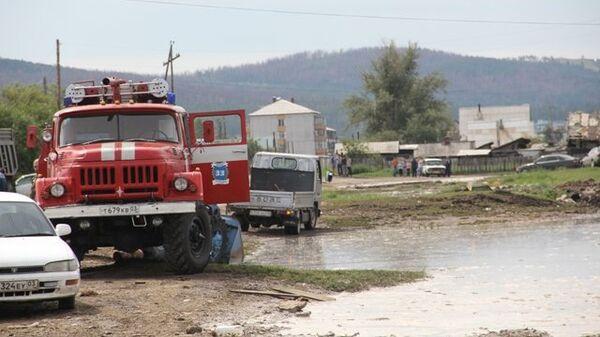 Подтопление в село Аршан в Бурятии