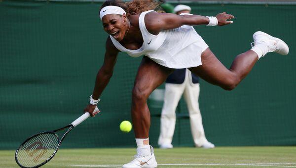 Серена Уильямс вышла из борьбы на Уимблдонском турнире
