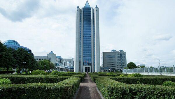 Главный офис компании Газпром в Москве