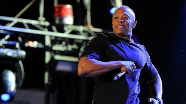 Американский рэпер и продюсер Dr. Dre