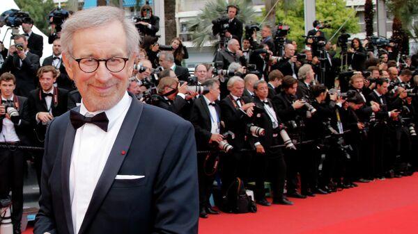 Сценарист, продюсер и режиссер Стивен Спилберг. Архивное фото