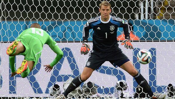 Футбол. Чемпионат мира - 2014. Матч Германия - Алжир