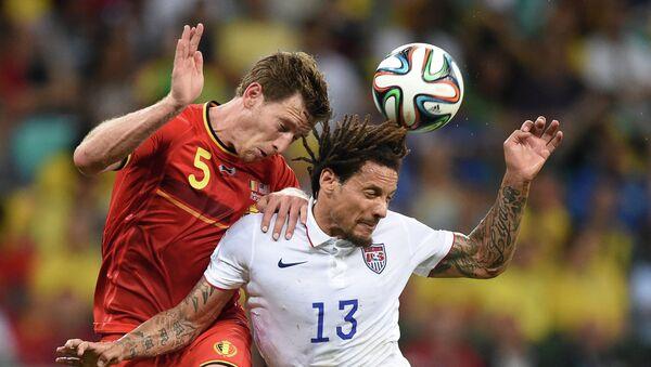 Футбол. Чемпионат мира - 2014. Матч Бельгия - США
