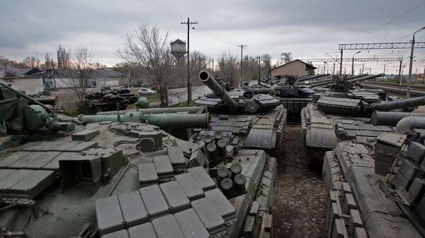 Украинские танки, архивное фото