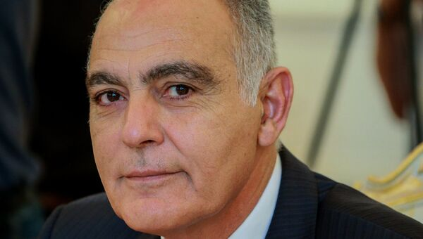 Министр иностранных дел и сотрудничества Королевства Марокко Салахэддин Мезуар