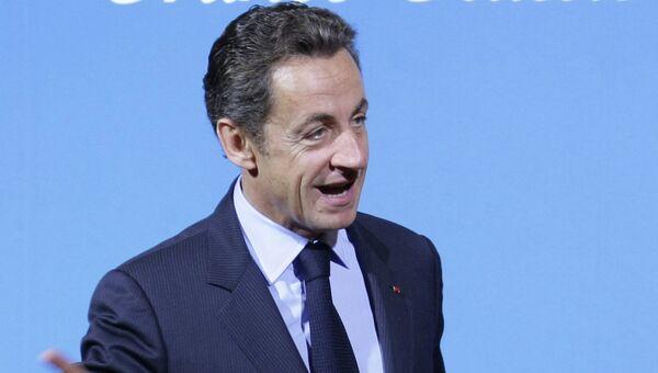Бывший президент Франции Николя Саркози. Архивное фото.