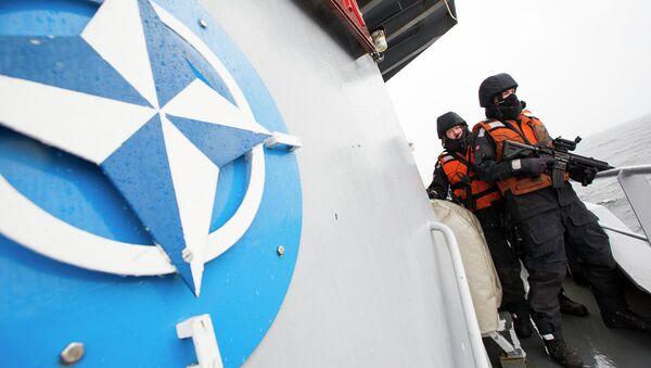 Норвежские военные во время учений НАТО. Архивное фото